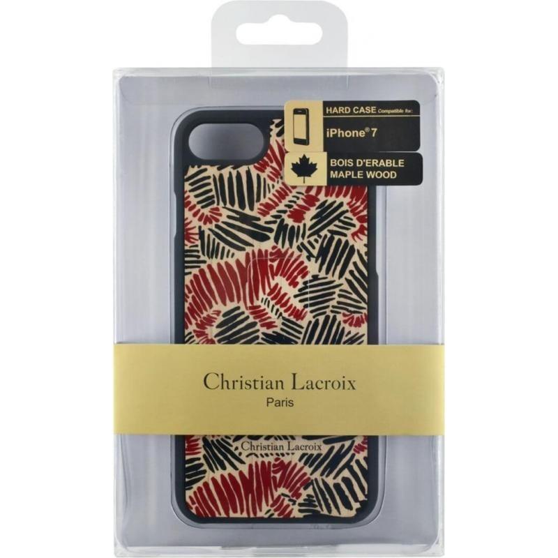 Coque Bois d'érable Fauve Christian Lacroix pour iPhone 7 ou iPhone 8
