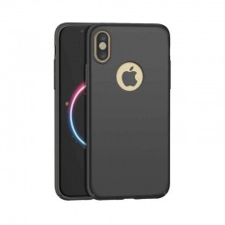 Coque de protection 360° Noir pour iPhone X et iPhone XS